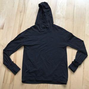 Lululemon long sleeved top with hood